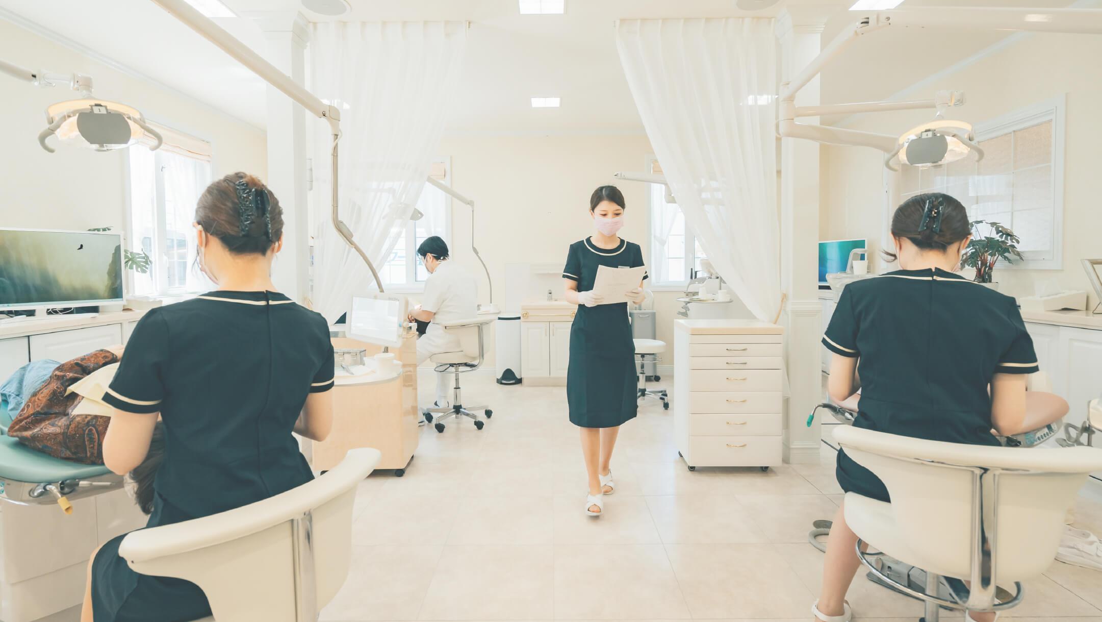 きくち矯正歯科 治療の様子